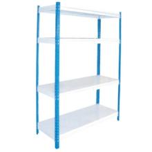 Best selling flexible rivet slotted angle steel shelving/Boltless steel rack