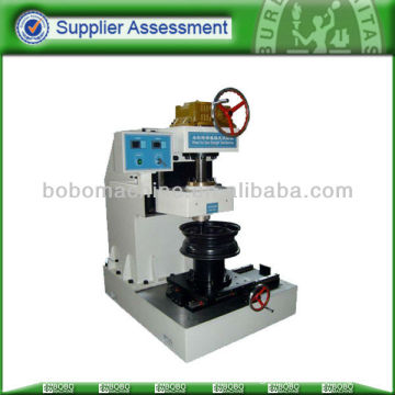 Wheel nut seat axial strength testing machine