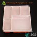 Bento Lunchbox mit 5 Fächern aus Kunststoff