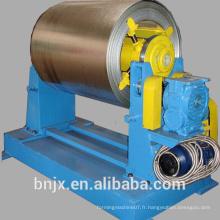 Top sale, décoiler hydraulique 10Tons avec bobine