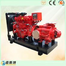 Ensemble de pompe à essence diesel pour l'industrie / Irrigation / Lutte contre l'incendie / Égouts