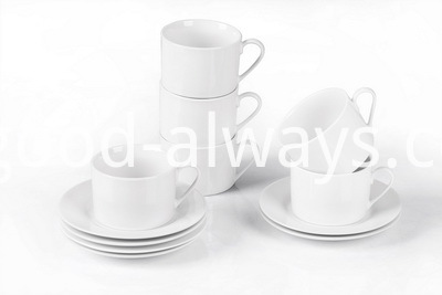 SET OF 12 PCS CUP AND SAUCER