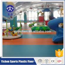 Rich Experience kindergarten kids play floor