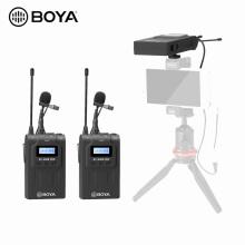 High Quality BOYA BY-WM8 Pro Upgraded UHF Dual-Channel Wireless Microphone System