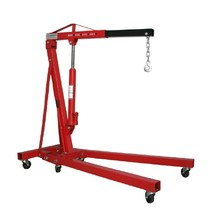 2ton folding hydraulic jack shop engine crane