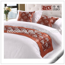 Горячий продавая кровать короля размера украшения бегуна кровати оптовой продажи
