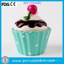 Caixa de bolinho de cerâmica de sorvete novidade