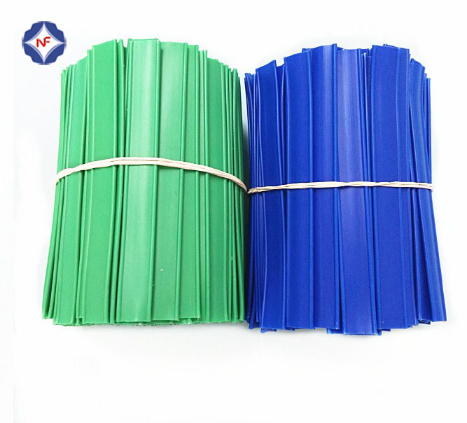 bundled-cutted plastic twist ties