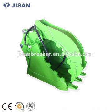 Big Capacity Hydraulic Grapple Excavator Grab Bucket