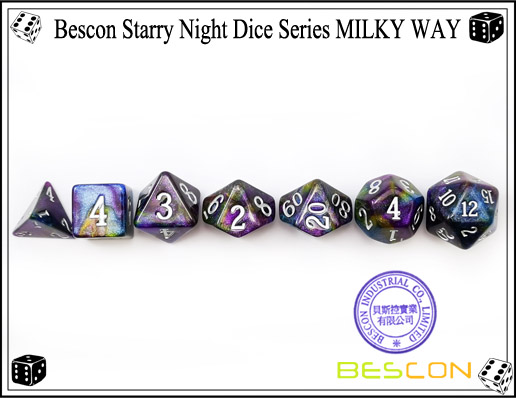 Starry Night Dice-9