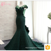 Gorgeous Custom Made Green See Through Women's Evening Dresses 2017