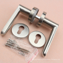 Stainless Steel 304 material Hollow type Lever door Handle selling in Alibaba