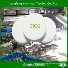 Sicherheit für menschliche Körperdesinfektion / umweltfreundliche Desinfektionsmittel Chemikalien für Krankenhaus / Chlordioxid