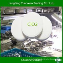Seguridad para desinfección del cuerpo humano / Productos químicos desinfectantes ecológicos para el hospital / dióxido de cloro