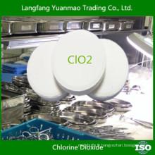 Sécurité pour la désinfection du corps humain / produits désinfectants écologiques pour l'hôpital / dioxyde de chlore