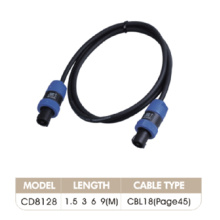 Plastic Material Connectors Audio Link Cord