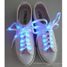 Sapatas do diodo emissor de luz do presente de aniversário com luz da sapata da luz / diodo emissor de luz