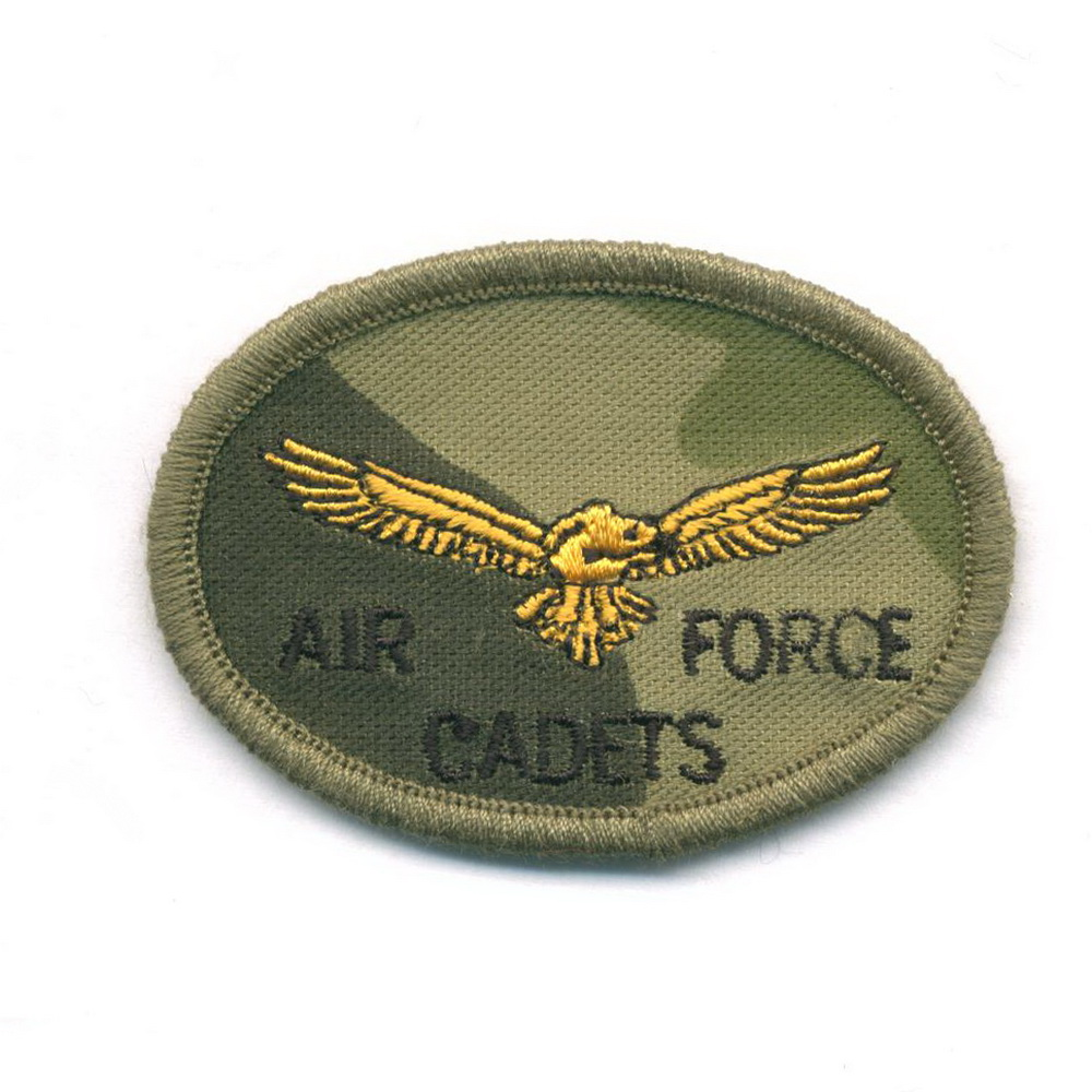 Factory Made Custom Embroidery badges for Military Uniform