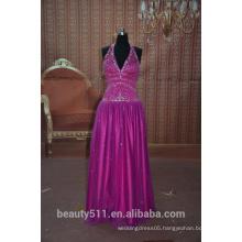 IN STOCK Halter party dress women's short v-neck prom dress SE09