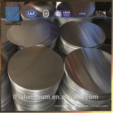 Círculo redondo de aluminio para utensilios de cocina