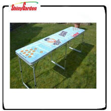 outdoor folding beer table camping table