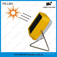 Lâmpada de leitura solar portátil durável da tabela