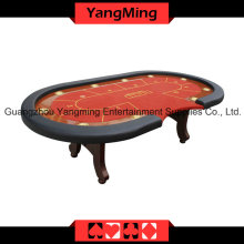 Oval Disk Feet 2 Generation Upgrade Casino Table (YM-TB017)