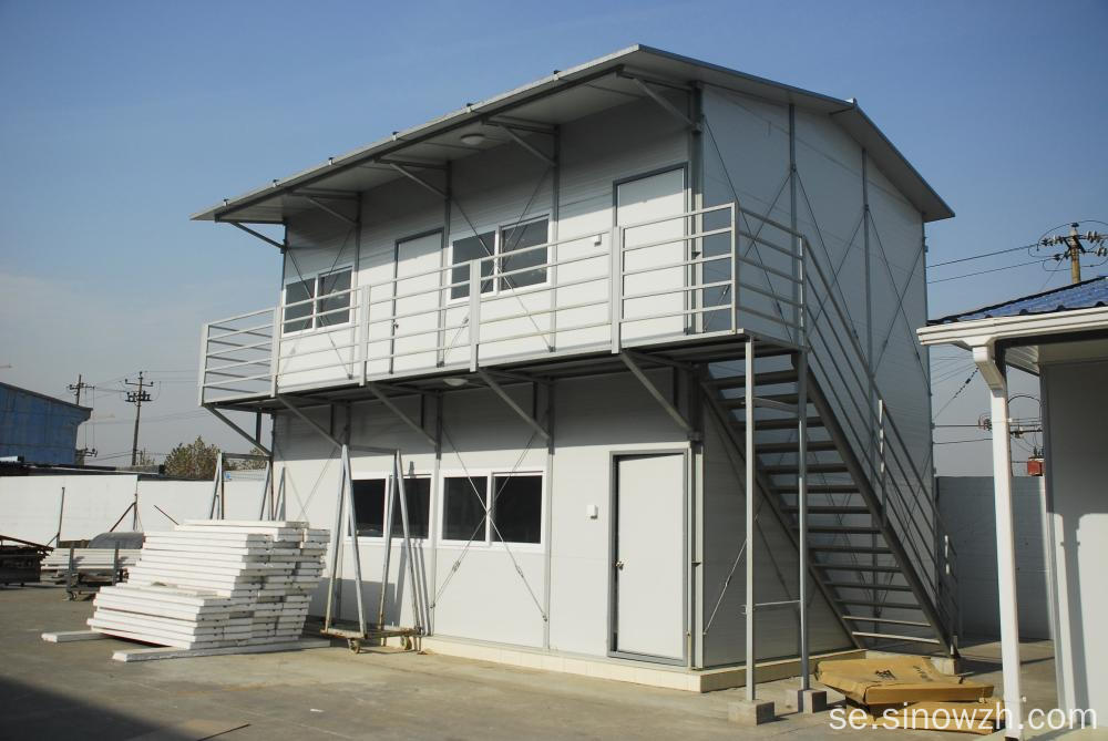 Sandwich Panel Labor Hutment