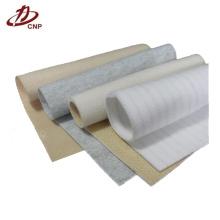 Aplicação de coleta de poeira a tela de poliéster não tecido para fazer sacos de filtro