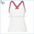 High Quality Mesh Insert backless yoga vests Sexy fitness wear yoga tank tops Mesh Insert Sexy tank top