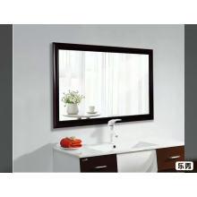 Couleur de bois en gros usine respectueuse de l'environnement acrylique clair miroir de la salle de bain acrylique