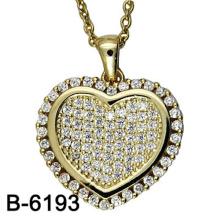 Neue Design Modeschmuck 925 Sterling Silber Halskette Anhänger