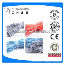 EN471 100% poliéster ou TC cor azul fita de isolamento reflexivo