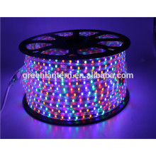led light strip full color 110v 220v flex waterpoof led strip with CE RoHs