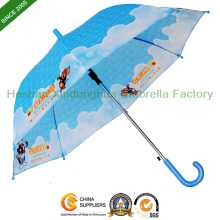 Heat Transfer Printing Children Umbrellas for Boys and Girls (KID-1019Z)