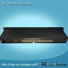 Chine professionnel fournisseur unique fibre monomode interne puissance AC220V 16 canaux multiplexeur cctv
