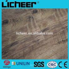 Medio de la superficie grabada 8.3mm de interior Suelo laminado / piso fácil de clic laminado
