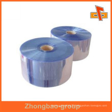 High quality PVC shrink flim customized hot blue print film