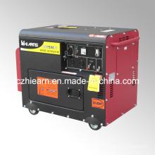 Jogo de gerador diesel silencioso do motor 188fa (DG7500SE)