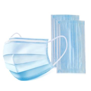 Melt-blown fabric protective disposable face mask