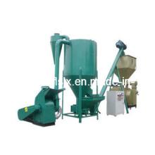 Pequena máquina de moinho de alimentação combinada