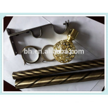 Занавесная труба с аксессуарами, кронштейн для занавесок, металлический занавес