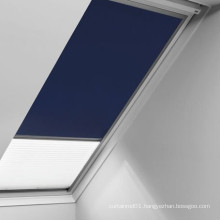 2015 rooftop skylight roller blind for customize size