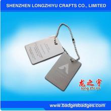 Benutzerdefinierte Erkennungsmarken Metall Lasergravur Erkennungsmarken