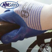 NMSAFETY suncend U3 liner nitrile industrial gloves
