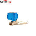 Gutentop Hot Sale Electric Ball Valve Mini Electric Valve Motor Operated Water Valve