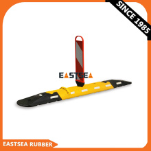Rubber Traffic Safety Products Extensible Lane Separator/ Lane Divider/ Road Separator
