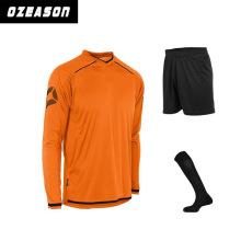 Custom Sportswear Low Price Polyester Sublimation Soccer Uniform
