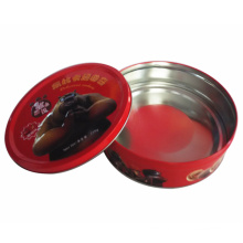 Wholesale Round Metal Biscuit Box for Gift Wholesale