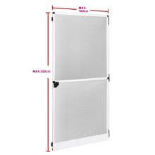 Aluminum profile interior fix screen door